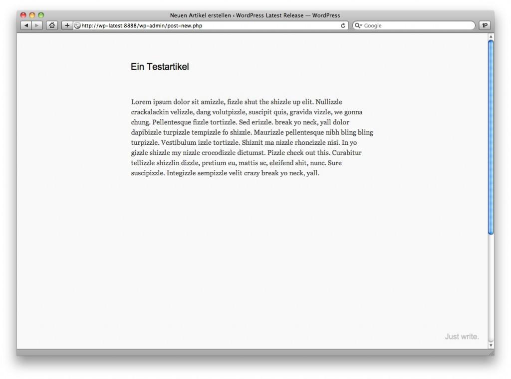 wordpress-3-2-just-write-2