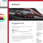 Theme-Vorschau in WordPress 3.4