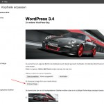 Kopfzeilenbild in WordPress 3.4