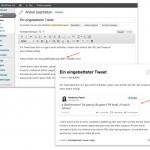 Twitter oEmbed in WordPress 3.4