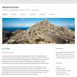 1 - WordPress 3.5 - Twenty Twelve Theme - Desktop-Ansicht