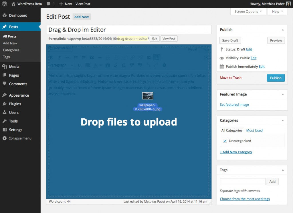 wordpress-3-9-editor-drag-n-drop