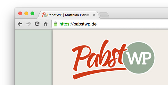 HTTPS-Kennzeichnung im Browser