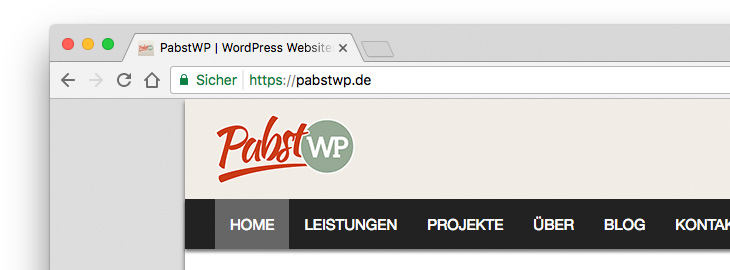 HTTPS in Chrome Browser