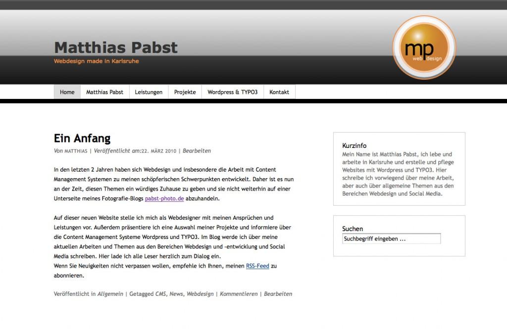 PabstWP Theme 2010-03