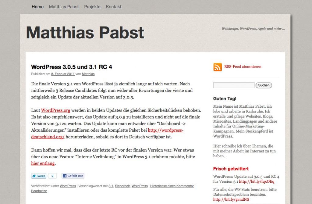 PabstWP Theme 2010-09