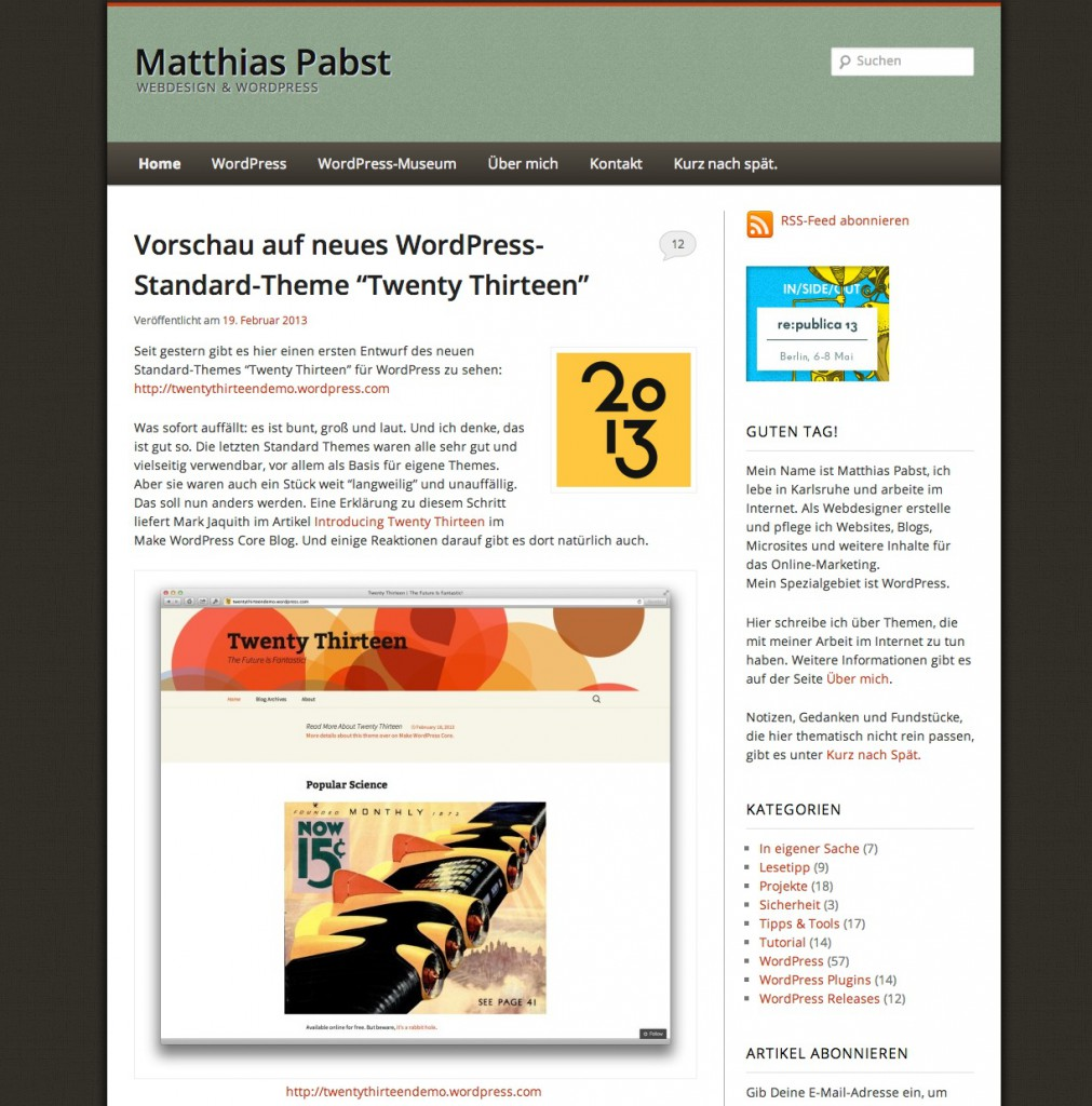 PabstWP Theme 2011-11