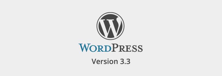 PabstWP WordPress Version 3.3