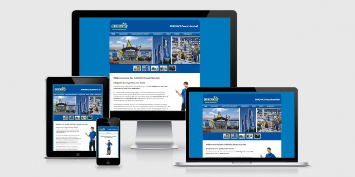 Relaunch Unternehmenswebsite EURONICS Deutschland eG