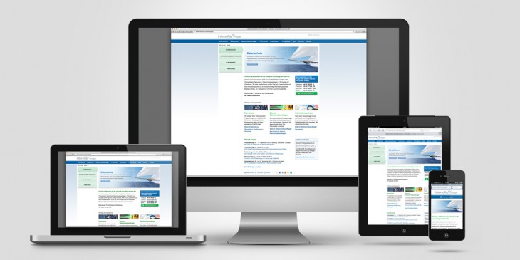 Relaunch Unternehmenswebsite intersoft consulting services AG