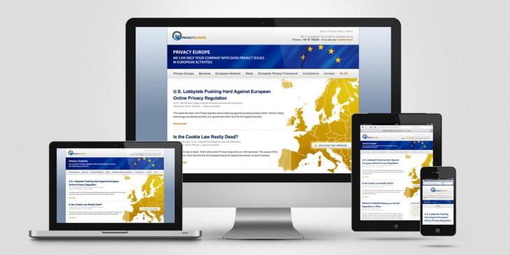 WordPress-Theme für Privacy Europe Blog
