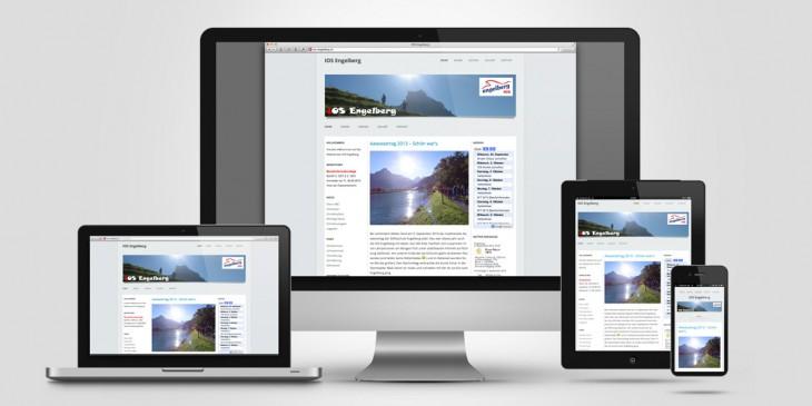 Erstellung eines WordPress-Themes für die IOS Engelberg