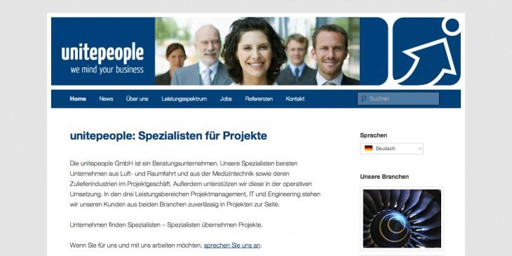 unitepeople: Relaunch, Jobboard, Mehrsprachigkeit